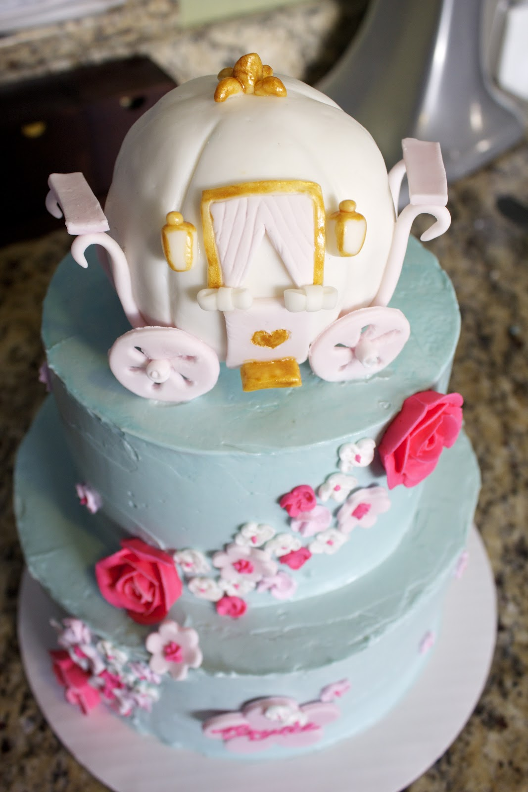 Cinderella Pumpkin Birthday Cake ~ Image Inspiration of Cake and ...