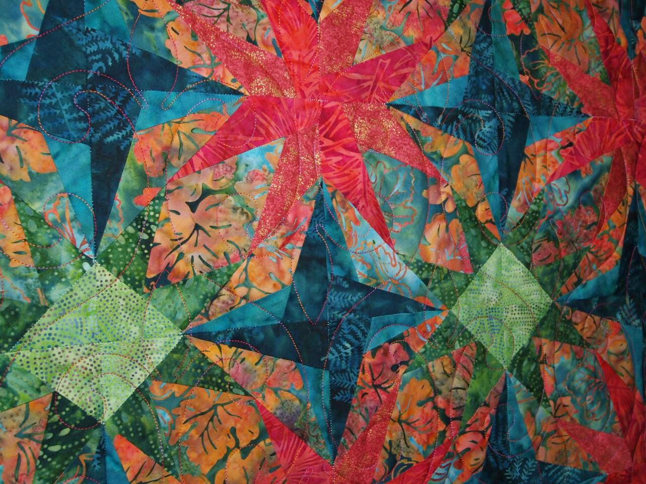 Aline Babin Star Quilt