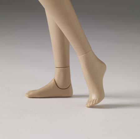 """2020-k-29 Tonner 16/""""Tyler Flat feet doll Shoes"""
