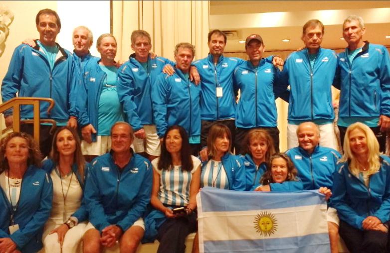 ITF MUNDIAL SENIORS 2017 POR EQUIPOS MIAMI FLORIDA