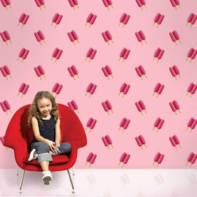 Vibrant Wall Paper Kids Rooms