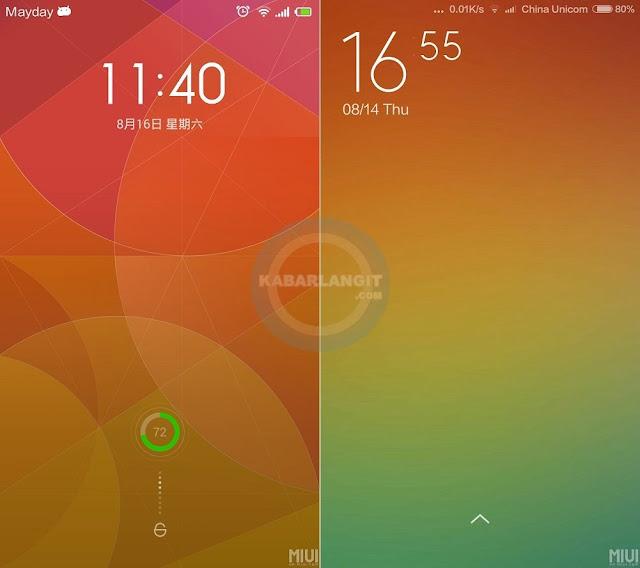 Perbedaan Xiaomi MIUI 6 dengan MIUI 5 Secara Signifikan