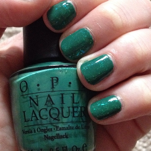 The Beauty of Life: #ManiMonday: (Almost) St. Patrick\'s Day Green ...