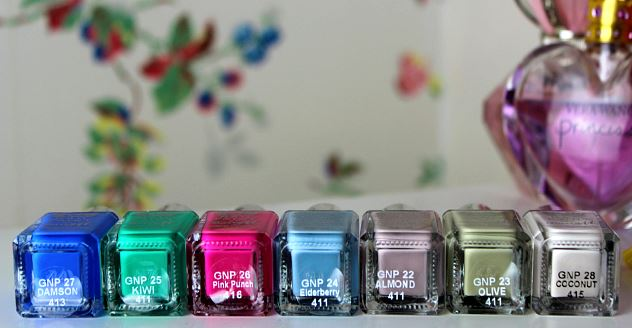 Barry M Gelly Hi-Shine Nail Paint Summer 2014