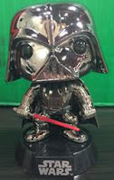 Funko Pop! Chrome Darth Vader