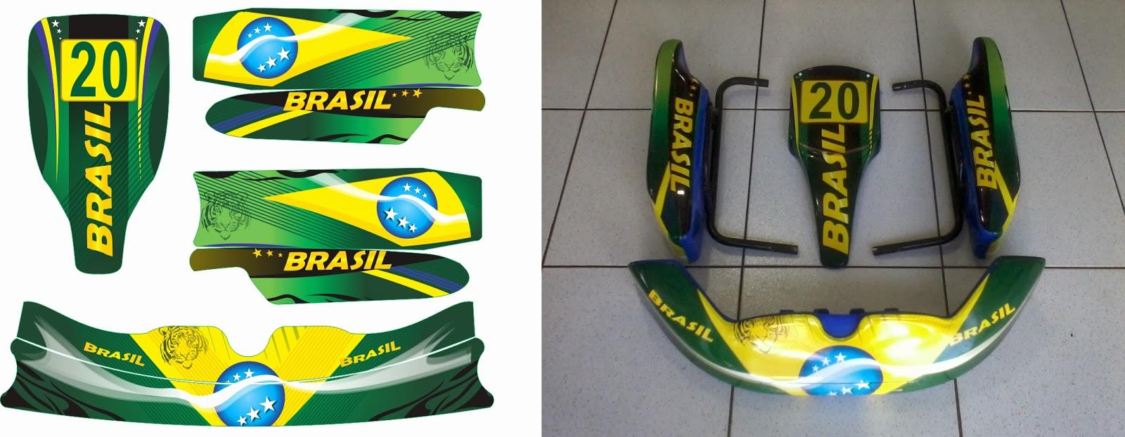 Artesanato Fortaleza ~ Murilo Abreu Carenagem Kart