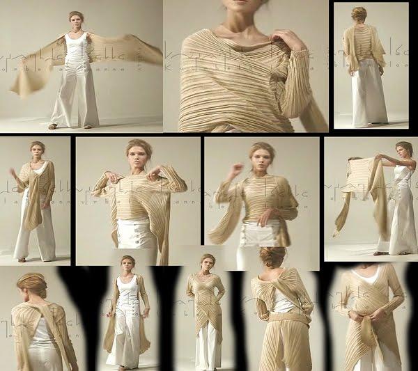 Магия вязания: Кардиган-трансформер