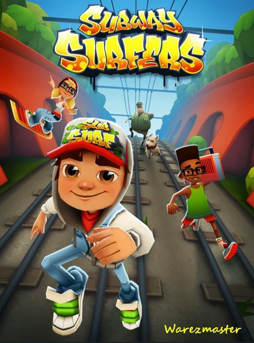 ve tablette en çok indirilen ve oynanan oyun olan Subway Surfers ...