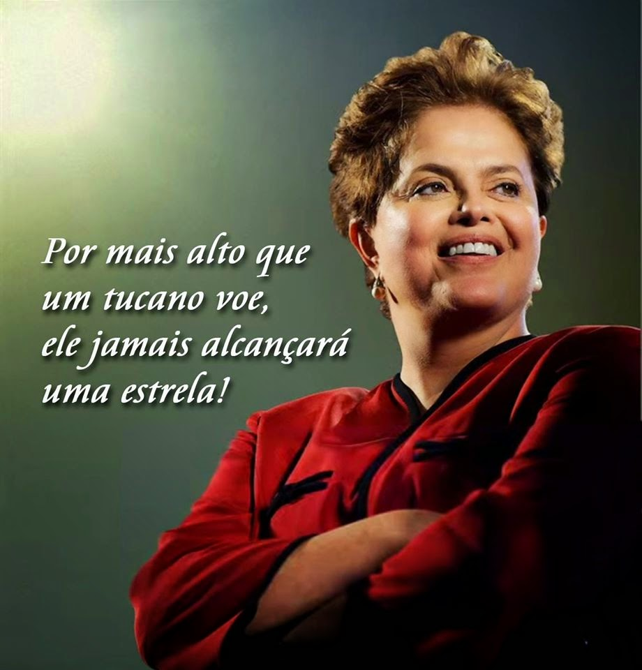 Dilma, Presidenta reeleita!