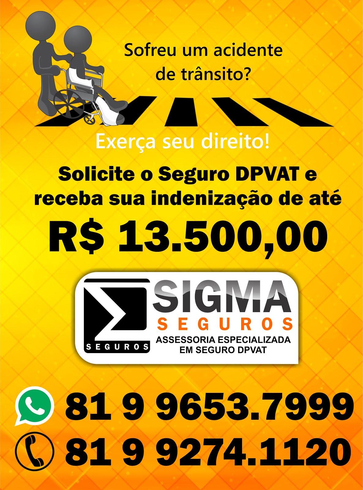 Publicidade - Sigma Seguros DPVAT