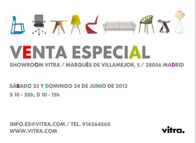 El Rincón de Berta.- Venta especial de VITRA