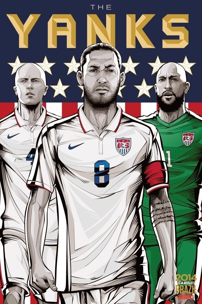 USA Team FIFA 2014