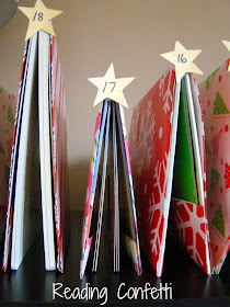 Book Tree Advent from Reading Confetti