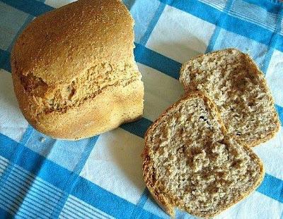 il mio pane integrale fatto con la mdp
