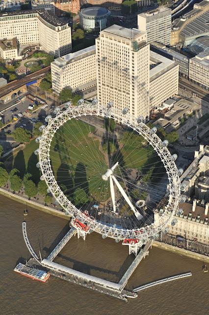 8 عين لندن من أجمل المعالم جذبا في لندن ، تخيل أن تري مدينتك كلها بنظرة واحدة