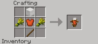 Balkons Weapons Mod craftings muñeco de entrenamiento
