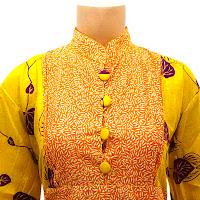 DBT2569 - Baju Bluse Batik Wanita Terbaru 2013