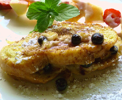 Banana-Blueberry French Toast | Ms. enPlace