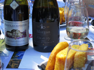 Beaujolais and Sweet Corn Bread