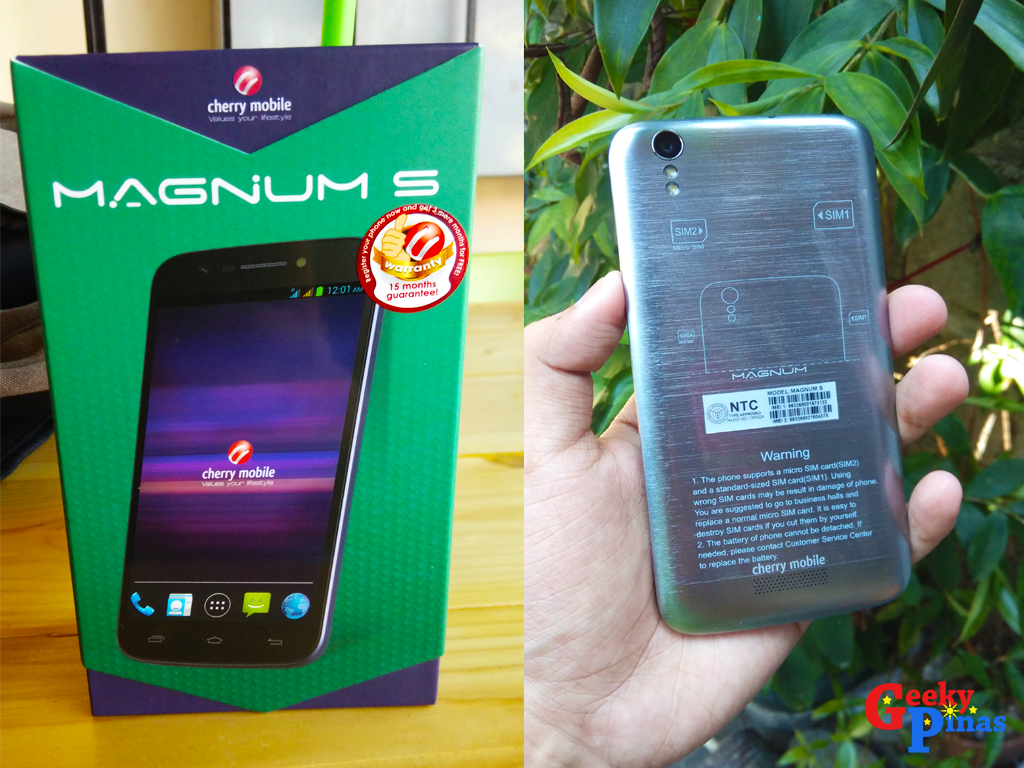 Cherry Mobile Magnum S Review