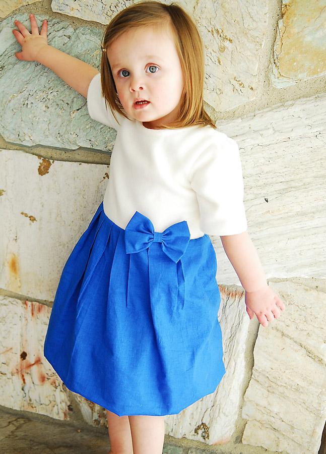 Просто детское платье своими руками