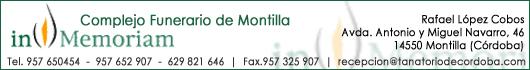IN MEMORIAM - COMPLEJO FUNERARIO DE MONTILLA