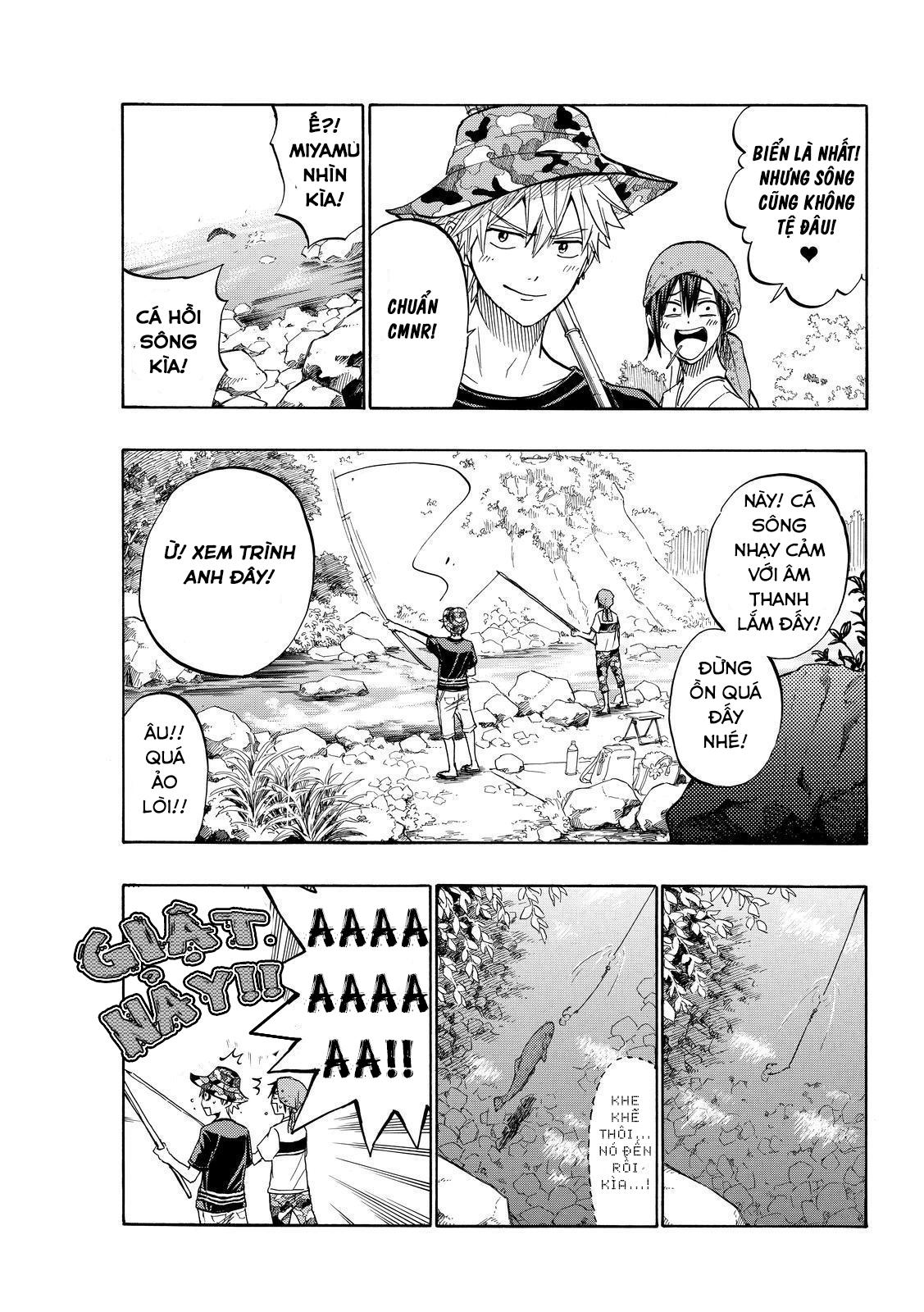 Yamada kun to 7 nin no Majo Chap 227 - Trang 11