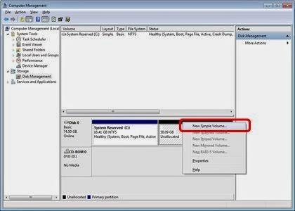 Cara Mudah Membuat Partisi Harddisk di Windows Tanpa Software