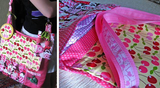 сумочки для девочки, оригинальный подарок для девочки, ключница, кошелек, вишенки крючком, сладкий подарок