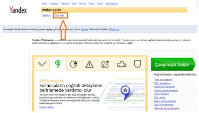 Yandex'de SEO Yapalım