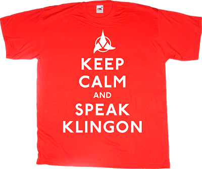 star trek klingon fun t-shirt ephemeral-t-shirts