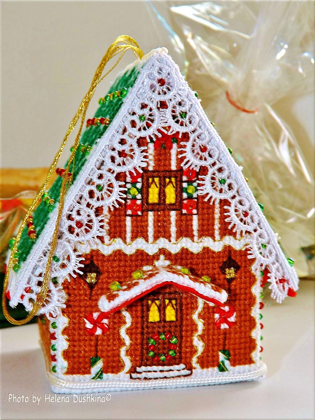 пряничный домик схема фото