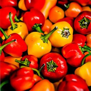 Bodegones Una Sola Fruta y Verdura