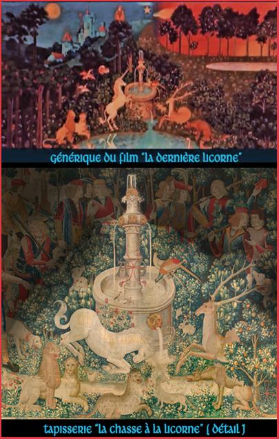 De la tapisserie de la chasse licorne au film d 39 animation la derni re licorne - La tapisserie de la dame a la licorne ...