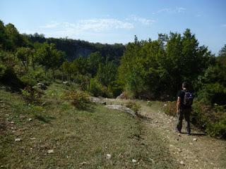 Bajando del Monasterio de Gelati