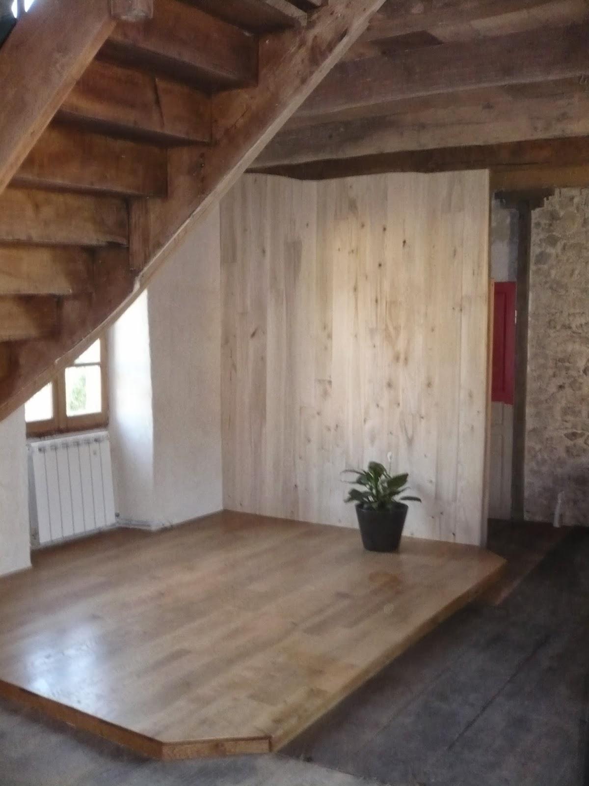 Artisanat Fabien Travail du bois lambris peuplier, plancher et