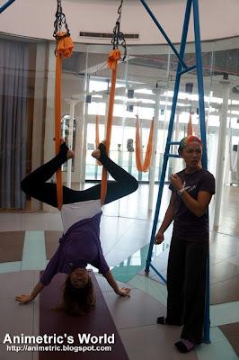 AntiGravity Yoga at Beyond Yoga