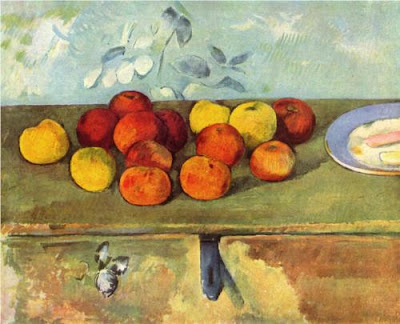 Paul Cézanne - Apples and Biscuits,1895