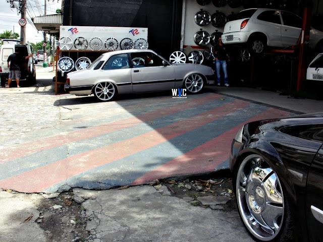 """Chevette na FIXA com rodas Noova aro 18"""""""