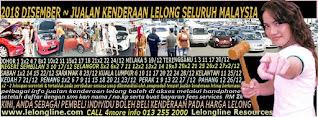 1-31/12/2018 - JUALAN KENDERAAN LELONG SELURUH MALAYSIA & SEKITAR KLANG VALLEY-SGR/K L