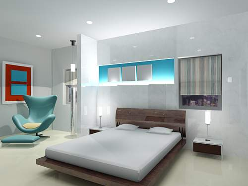 Architectural world bedroom interior design ideas for Good interior design ideas