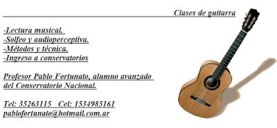 clases guitarra monserrat constitucion buenos aires