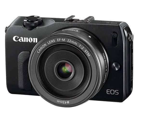Fotografia della Canon EOS M