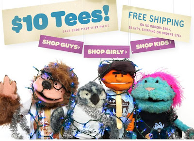 Neuer Threadless-Fuzzy-Holiday-Sale: T-Shirts ab 10 Dollar