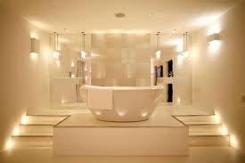 Modern Luxurious Bathroom Lighting Design