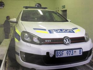 Fake police cars for hire
