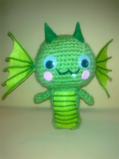 amigurumi, dragón