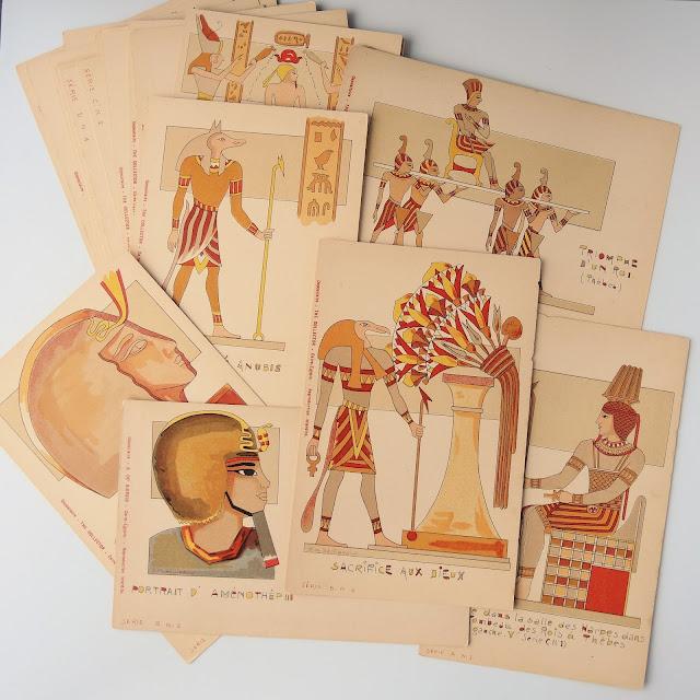 Vintage Egyptian postcards