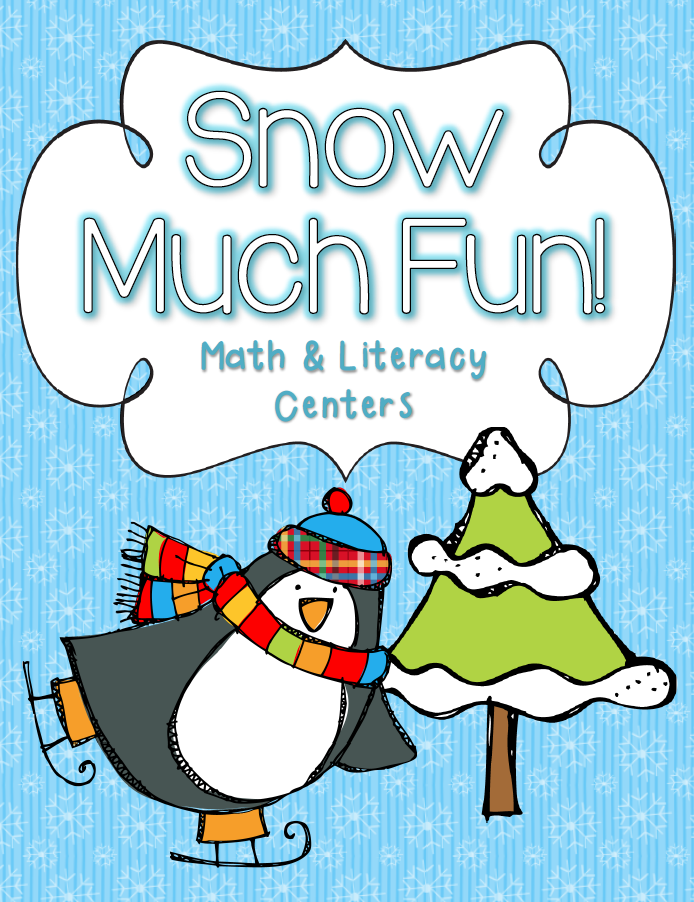 http://www.teacherspayteachers.com/Product/Snow-Much-Fun-Math-Literacy-Centers-1645252