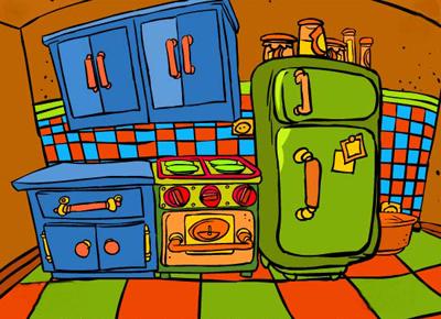The magic of my house octubre 2012 - Dibujos de cocina ...